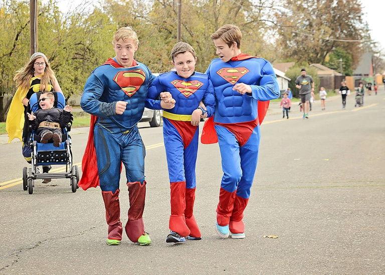 Superheros unite