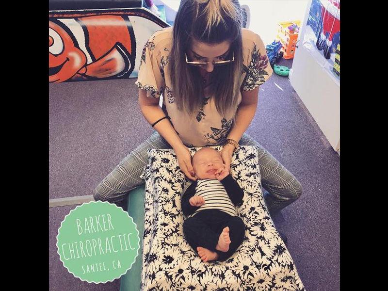 Gentle newborn adjustment