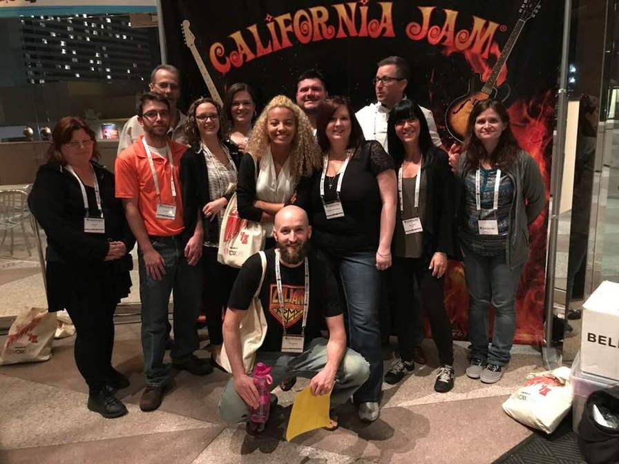 Team pic at Cal Jam