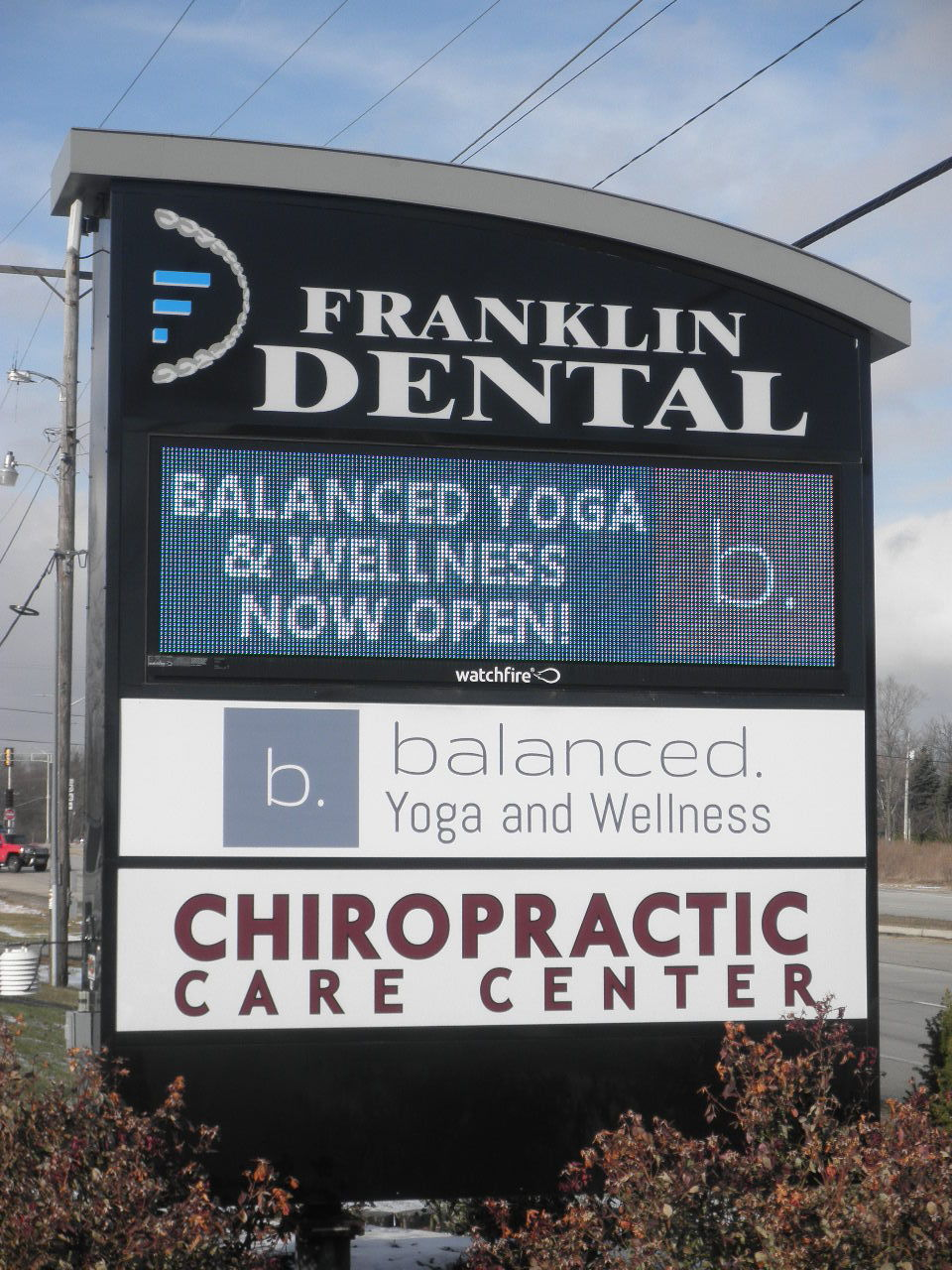 Chiro Franklin Sign